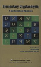 Cover of Elementary Cryptanalysis: A Mathematical Approach